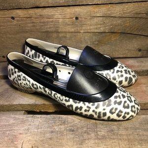 Crocs Animal Print Flat Slip Ons
